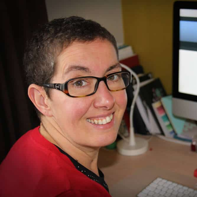 Petra Préal, graphic designer and all-round creative person