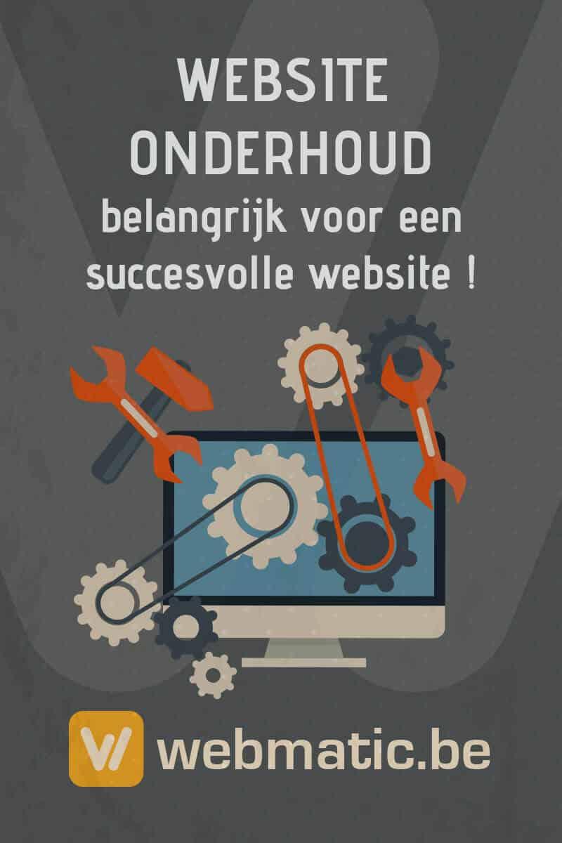 Website Onderhoud - De basis voor een succesvolle website!