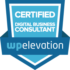 WP Elevation Digital Business Consultant certificatie Koen Adams