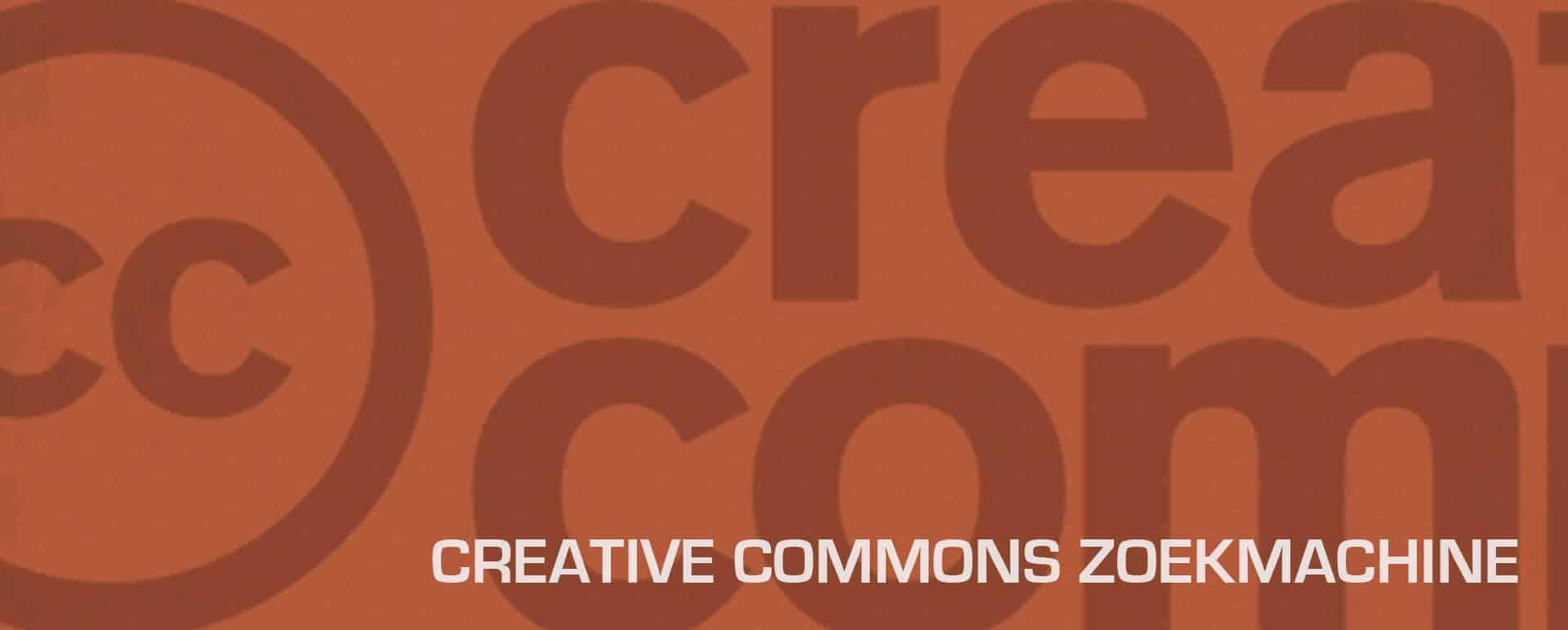Gratis afbeeldingen zoeken met de Creative Commons Zoekmachine