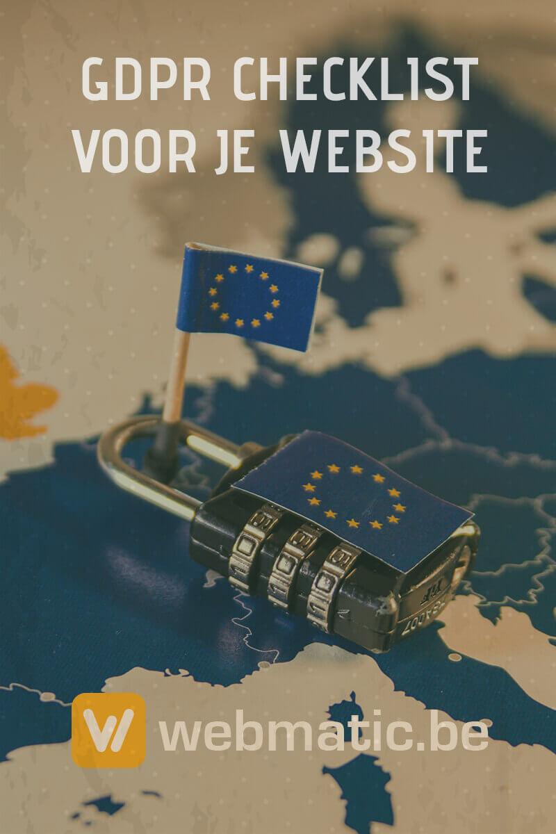 GDPR Checklist voor je Website. Volg onze eenvoudige stappen en zorg dat je website in regel is voor de aankomende GDPR wetgeving.