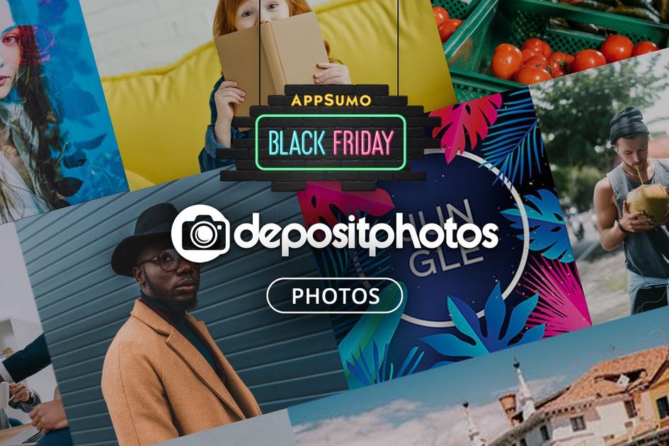 Depositphotos aanbieding op Appsumo