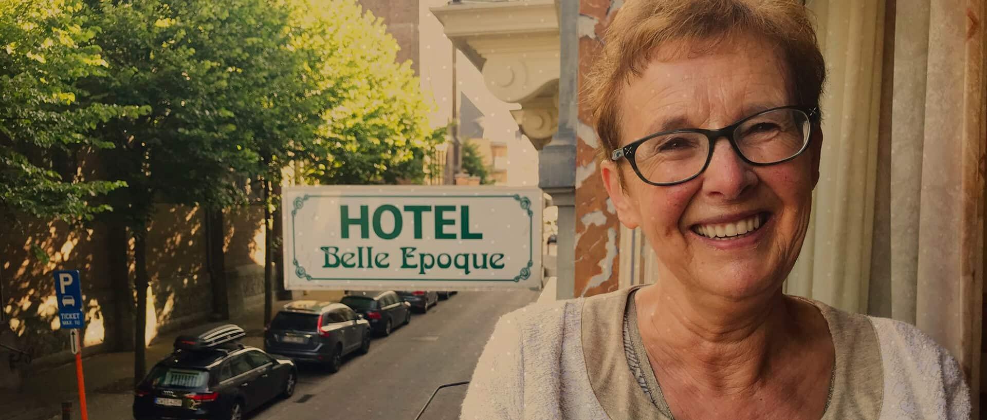 Testimonial hotel Belle Epoque in Blankenberge
